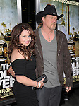 Trace Adkins and Rhonda at The Lionsgate Screening of The Lincoln Lawyer held at The Arclight Theatre in Hollywood, California on March 10,2011                                                                               © 2010 Hollywood Press Agency