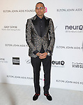 Chris Brown at the 21st Annual Elton John AIDS Foundation Academy Awards Viewing Party held at The City of West Hollywood Park in West Hollywood, California on February 24,2013                                                                               © 2013 Hollywood Press Agency