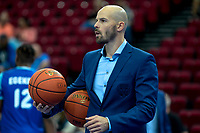 GRONINGEN - Basketbal, Donar - Apollo Amsterdam , Dutch Basketbal League, seizoen 2021-2022, 26-09-2021,  Donar assistent trainer Jan Stalman