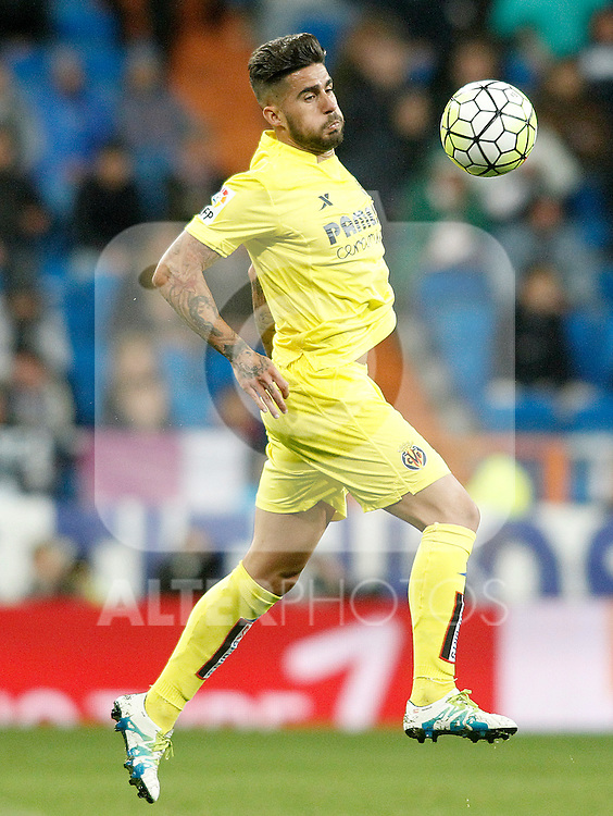 Villareal's Samu Garcia during La Liga match. April 20,2016. (ALTERPHOTOS/Acero)