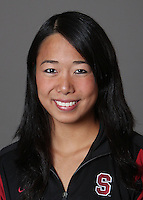 STANFORD, CA - OCTOBER 28:  Wendy Lu of the Stanford Cardinal synchronized swimming team poses for a headshot on October 28, 2009 in Stanford, California.