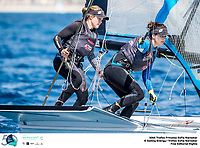 The Trofeo Princesa Sofia Iberostar celebrates this year its 50th anniversary in the elite of Olympic sailing in a record edition, to be held in Majorcan waters from 29th March to 6th April, organised by Club Nàutic S'Arenal, Club Marítimo San Antonio de la Playa, Real Club Náutico de Palma and the Balearic and Spanish federations. ©Jesus Renedo/SAILING ENERGY/50th Trofeo Princesa Sofia Iberostar<br /> 02 April, 2019.