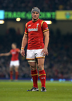 Jonathan Davies of Wales during the RBS 6 Nations Championship rugby game between Wales and Scotland at the Principality Stadium, Cardiff, Wales, UK Saturday 13 February 2016