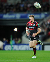 20131018 Copyright onEdition 2013©<br /> Free for editorial use image, please credit: onEdition<br /> <br /> Owen Farrell of Saracens during the Heineken Cup match between Saracens and Stade Toulousain at Wembley Stadium on Friday 18th October 2013 (Photo by Rob Munro)<br /> <br /> For press contacts contact: Sam Feasey at brandRapport on M: +44 (0)7717 757114 E: SFeasey@brand-rapport.com<br /> <br /> If you require a higher resolution image or you have any other onEdition photographic enquiries, please contact onEdition on 0845 900 2 900 or email info@onEdition.com<br /> This image is copyright onEdition 2013©.<br /> This image has been supplied by onEdition and must be credited onEdition. The author is asserting his full Moral rights in relation to the publication of this image. Rights for onward transmission of any image or file is not granted or implied. Changing or deleting Copyright information is illegal as specified in the Copyright, Design and Patents Act 1988. If you are in any way unsure of your right to publish this image please contact onEdition on 0845 900 2 900 or email info@onEdition.com