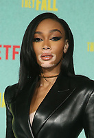 LOS ANGELES, CA - OCTOBER 13: Winnie Harlow at the Special Screening Of The Harder They Fall at The Shrine in Los Angeles, California on October 13, 2021. Credit: Faye Sadou/MediaPunch