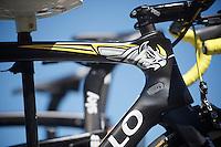 Chris Froome's (GBR/SKY) Rhino-themed frame<br /> <br /> st16: Morain-en-Montagne to Bern (SUI) / 209km<br /> 103rd Tour de France 2016