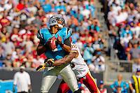 The Carolina Panthers vs.The Washington Redskins at Bank of America Stadium in Charlotte, North Carolina...Photos by: Patrick Schneider Photo.com