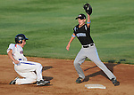 14 August 10: Ocala's Kirby McMullen fields a pick off play at second base during their 15-1 win in the Cal Ripken Babe Ruth World Series 12U Majors in Aberdeen, Maryland