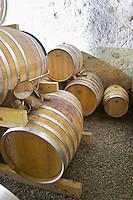 Domaine Bertrand-Berge In Paziols. Fitou. Languedoc. Barrel cellar. France. Europe.