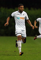 Pictured: Kenji Gorre of Swansea. Friday 11 August 2017<br /> Re: Premier League 2, Division 1, Swansea City U23 v Liverpool U23 at the Landore Training Ground, Swansea, UK