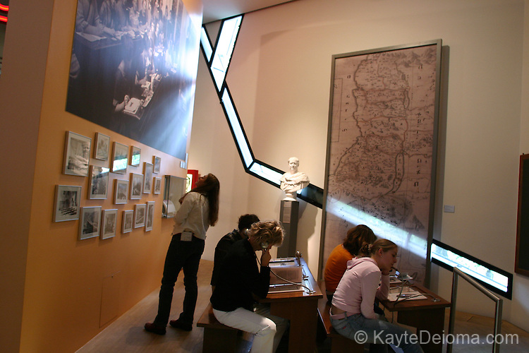 The life and history of Germany's Jews from the Middle Ages through today are chronicled in the Jewish Museum, which opened in 2001, Berlin, Germany
