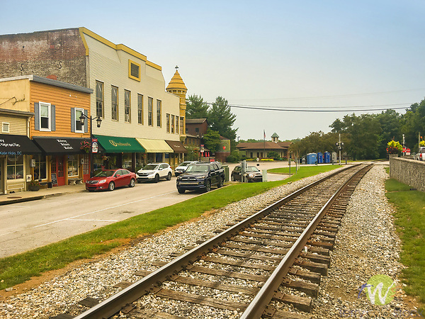 Main Street, Midway, KY