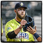 "Best of luck to Columbia Fireflies pitcher Chris Viall, who has decided to retire from baseball. ""Over the past 3 years I have been honored to be a part of the New York Mets Organization, and want to thank everyone for the opportunities I have been granted,"" he said in a tweet. (Tom Priddy/Four Seam Images) #MiLB"