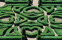 Europe/France/Centre/37/Indre-et-Loire/Villandry: Les jardins de buis du chateau