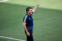LOS ANGELES, CA - AUGUST 22: Los Angeles Galaxy head coach Guillermo Barros Schelotto during a game between Los Angeles Galaxy and Los Angeles FC at Banc of California Stadium on August 22, 2020 in Los Angeles, California.