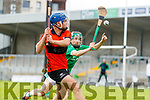 Conor O'Sullivan, Ballyheigue,  during the Kerry County Minor Hurling Championship Final match between Ballyduff and Ballyheigue at Austin Stack Park in Tralee, Kerry.