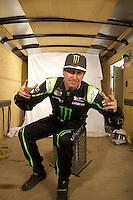 Mar. 18, 2011; Chandler, AZ, USA;  LOORRS driver Cameron Steele poses for a portrait at Firebird International Raceway. Mandatory Credit: Mark J. Rebilas