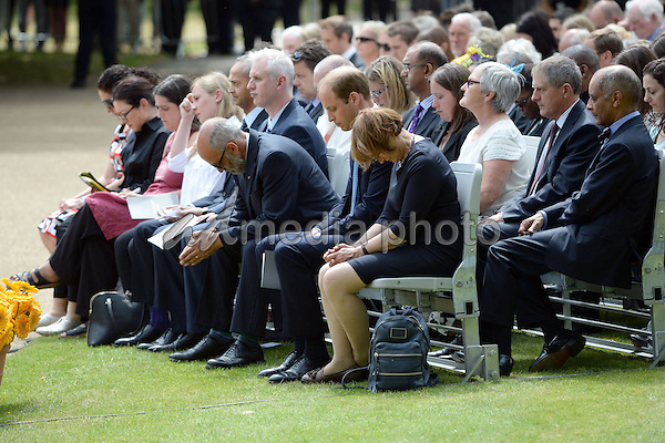 07 July 2015 - London, Memorial in Hyde Park, London, in memory of those who died in the 7/7 bombings, as Britain remembers the July 7 attacks amid a welter of warnings about the enduring and changing threat from terrorism a decade on. Photo Credit: Alpha Press/AdMedia
