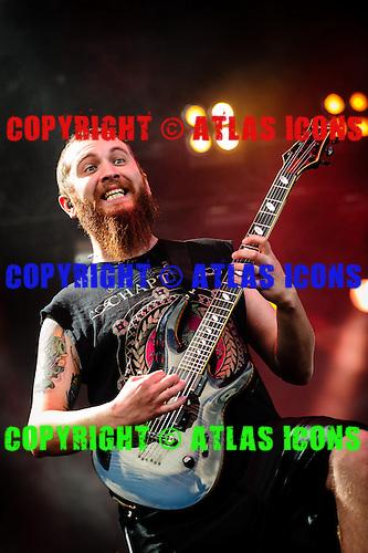 KILLSWITCH ENGAGE, LIVE, 2012, <br /> PHOTOCREDIT:  IGOR VIDYASHEV/ATLASICONS