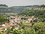 Veliko Tarnovo and the Yantra River, Bulgaria