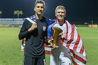 LAKEWOOD RANCH, Florida – Wednesday, December 04, 2016: The U.S. Men's National team U-17s vs Brazil. 2016 Nike International Friendlies at Premier Sports Campus.