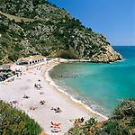Spain, Costa Blanca, near Javea: Playa De La Granadella | Spanien, Costa Blanca, bei Javea: Playa De La Granadella