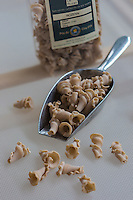 France, Morbihan (56), Languidic, David Le Ruyet élabore des pâtes à partir de la farine de ses propres céréales produites// France, Morbihan, Languidic,