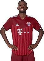 29th August 2021; Munich, Germany; FC Bayern Munich official team portraits for season 2021-22:  Tanguy Nianzou Kouassi