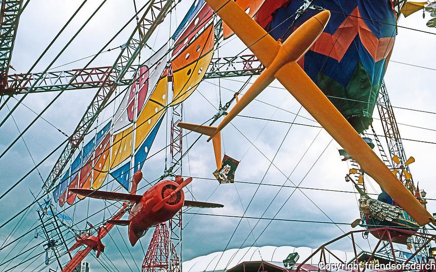 Vancouver: EXPO '86--Aviation Plaza. Photo '86.