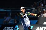 Yen Hsun Lu (TPE) Loses at the Australian Open in Melbourne, Australia.
