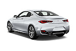 Car pictures of rear three quarter view of 2017 Infiniti Q60 Premium 2 Door Coupe Angular Rear