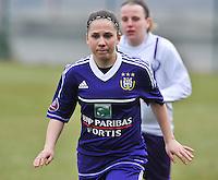 RSC Anderlecht Dames - Beerschot : Taika De Koker.foto DAVID CATRY / Vrouwenteam.be