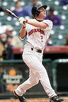 Texas Tech Red Raider Michael Reed against TCU on Friday March 5th, 2100 at the Astros College Classic in Houston's Minute Maid Park.  (Photo by Andrew Woolley / Four Seam Images)