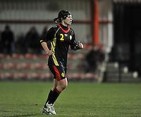 Belgium Dames U19 - selectie brabant jongens U15 :  Karen Verrydt.foto DAVID CATRY / Vrouwenteam.be