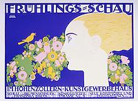 Spring Exhibition, 1914. Private Collection. Artist : Klinger, Julius (1876-1942).