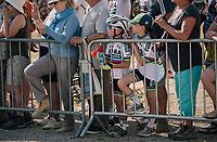 World Champ fans at the finish awaiting their heroes<br /> <br /> Stage 10: Annecy > Le Grand-Bornand (159km)<br /> <br /> 105th Tour de France 2018<br /> ©kramon