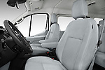 Front seat view of 2016 Ford Transit 150-XLT-Low-Roof 4 Door Passenger Van Front Seat  car photos