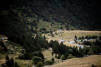 2km to go<br /> <br /> Stage 9: Andorra la Vella to Cortals d'Encamp (94km) - ANDORRA<br /> La Vuelta 2019<br /> <br /> ©kramon