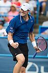 John Isner (USA) Defeats Marcos Baghdatis (CYP) 6-7(5), 6-4, 6-4
