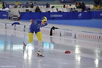 SPEEDSKATING: HEERENVEEN: 14-02-2021, IJsstadion Thialf, ISU World Speed Skating Championships 2021,Nils van der Poel, ©photo Martin de Jong