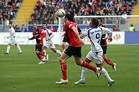 Kopfball Sotirios Kyrgiakos (Eintracht) gegen Stanislav Sestak (Bochum)<br /> Eintracht Frankfurt vs. VfL Bochum, Commerzbank Arena<br /> *** Local Caption *** Foto ist honorarpflichtig! zzgl. gesetzl. MwSt. Auf Anfrage in hoeherer Qualitaet/Aufloesung. Belegexemplar an: Marc Schueler, Am Ziegelfalltor 4, 64625 Bensheim, Tel. +49 (0) 6251 86 96 134, www.gameday-mediaservices.de. Email: marc.schueler@gameday-mediaservices.de, Bankverbindung: Volksbank Bergstrasse, Kto.: 151297, BLZ: 50960101
