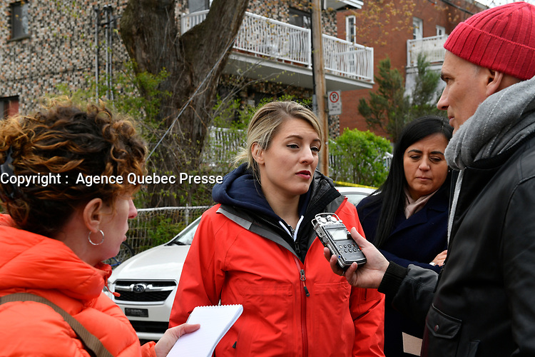Innondations  mai 2017<br /> <br /> PHOTO : Agence Quebec Presse