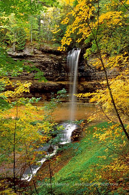 Munising Falls, Munising Michigan