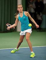 March 14, 2015, Netherlands, Rotterdam, TC Victoria, NOJK, Julie Belgraver (NED)<br /> Photo: Tennisimages/Henk Koster