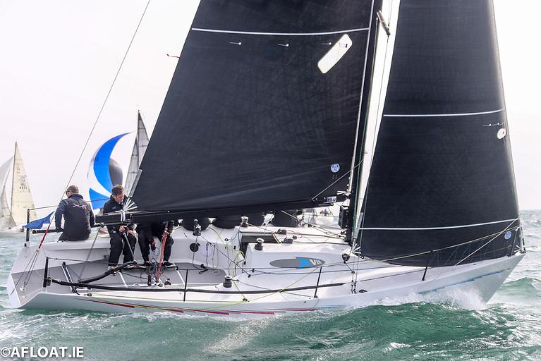 "IRC 2 winner - ""Checkmate XVIII"" - Nigel Biggs - Howth YC - 100% North Sails"