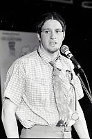 Montreal (qc) CANADA - file Photo - 1992 - <br /> Stephane Fallu