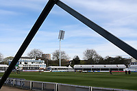 General view of the ground ahead of Essex CCC vs Worcestershire CCC, LV Insurance County Championship Group 1 Cricket at The Cloudfm County Ground on 9th April 2021