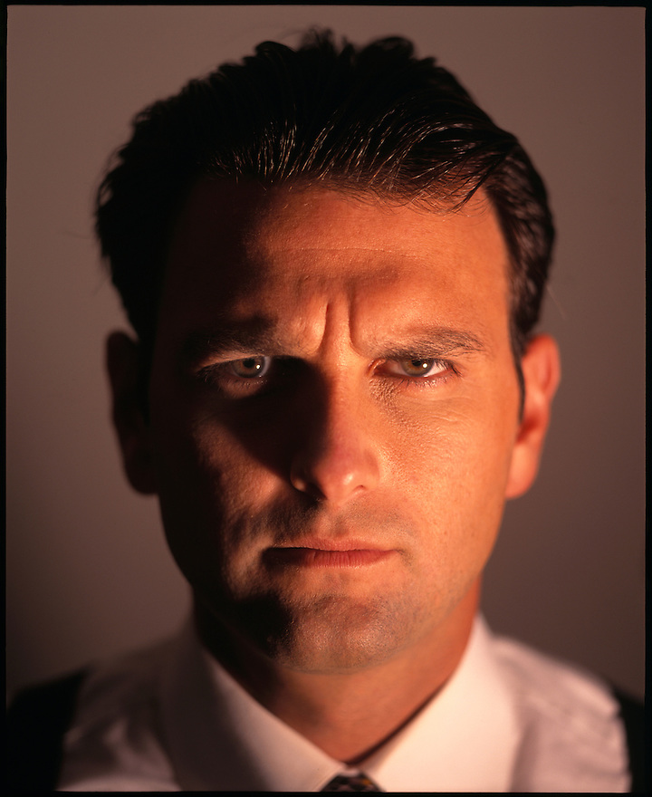 NFL Sports Agent Drew Rosenhaus photographed at his Miami Beach, Florida home for the cover of Sports Illustrated