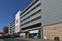 Leyton Orient FC Breyer Group Stadium where it has been reported that the Carabao Cup tie with Spurs is in doubt after a number of players at the Sky Bet League Two club tested positive for coronavirus. <br /> The Breyer Group Stadium, Brisbane Road, London on 21 September 2020. Photo by Vince  Mignott.