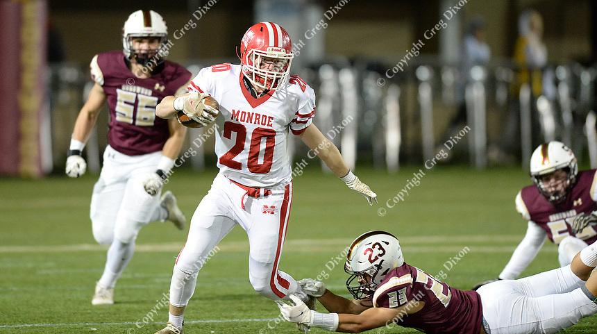 Monroe vs. Madison Edgewood at Breese Stevens Field   Wisconsin high school football 10/15/21